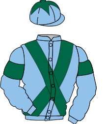 Racing colours for PAUL D'ARCY RACING PARTNERSHIP