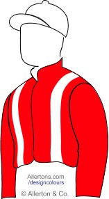 Racing colours for Mr Charles Wilson